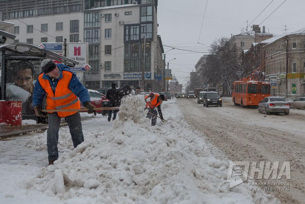 Глеб Никитин: «Ввопросе уборки снега вНижнем Новгороде есть недоработки»