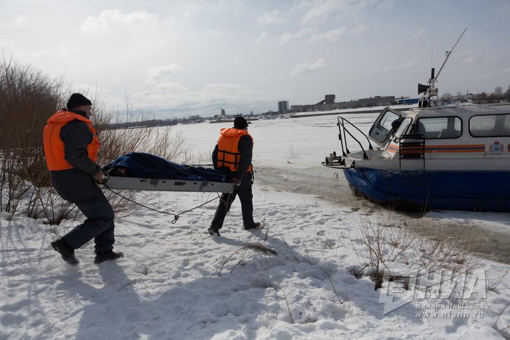 ВБорском районе наВолге утонули два рыбака