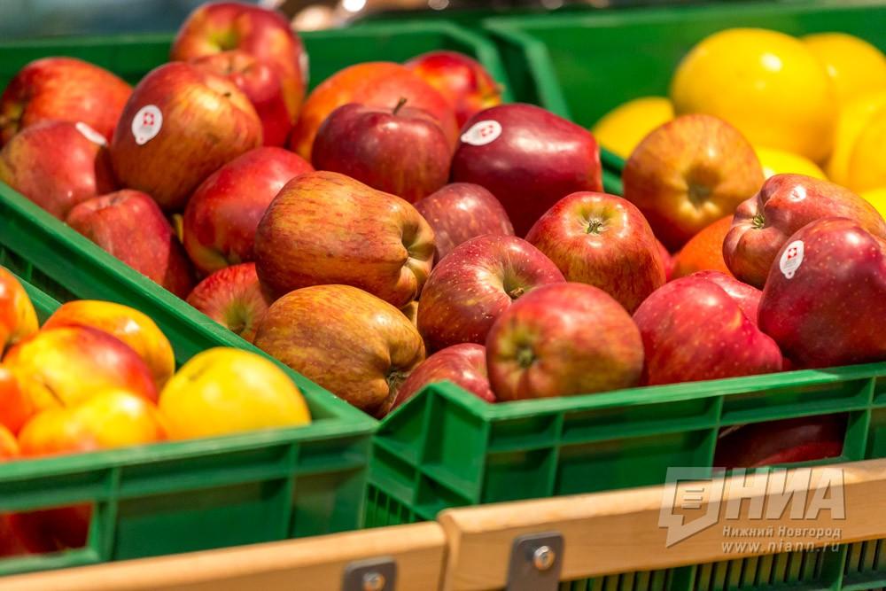 360 ящиков сподозрительными яблоками обнаружили нанижегородском складе