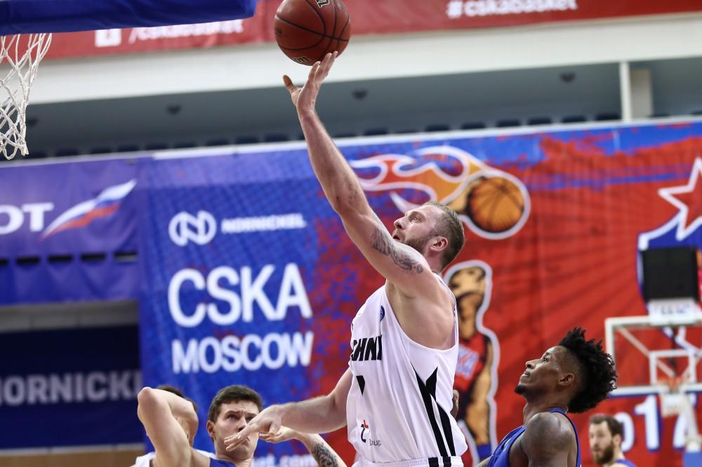 Баскетбольный клуб «Нижний Новгород» уступил московскому ЦСКА срезультатом 80:97