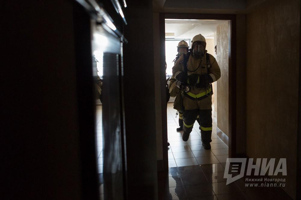 27-летний мужчина умер вовремя крупного пожара наБору