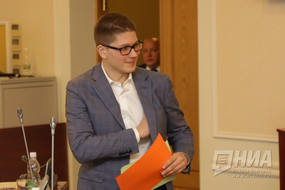Сын Олега Сорокина Никита объявил осложении депутатских полномочий