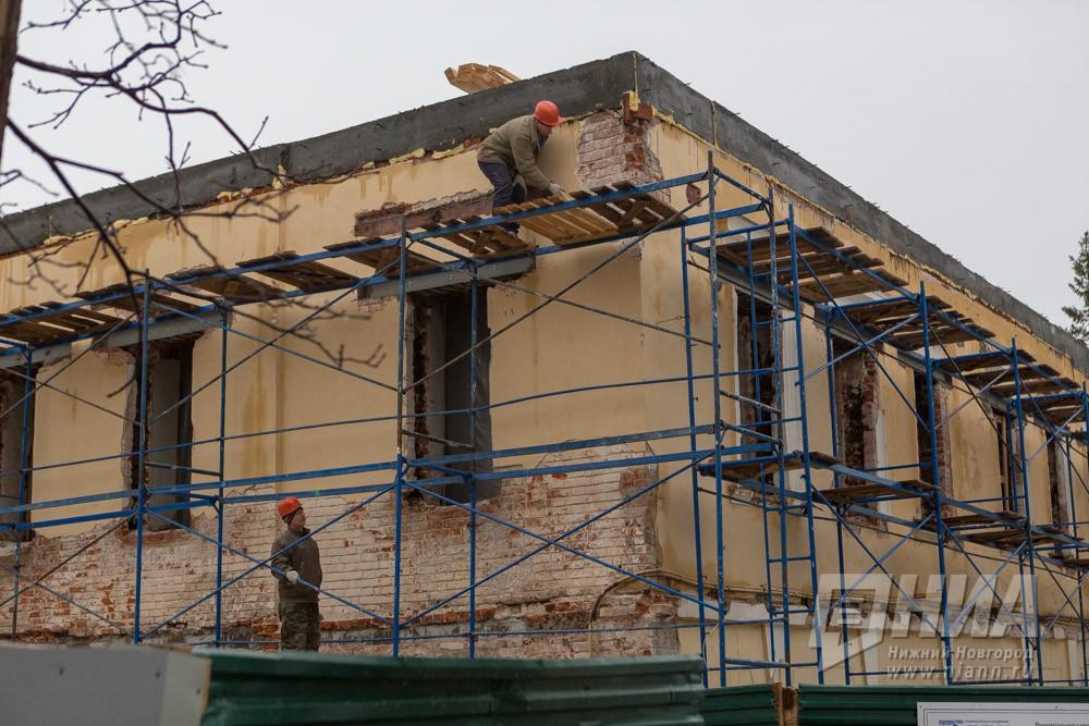 ВНижегородской области в этом 2018г капремонт ожидает неменее 1 тыс домов