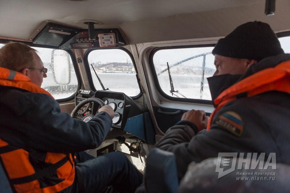 НаВолге вНижегородской области откололась льдина с26 рыбаками