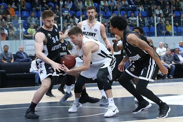 «Нижний Новгород» завоевал путевку вплей-офф Единой лиги ВТБ