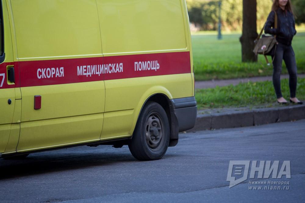 Шофёр  автомобиля умер  после опрокидывания вкювет вПеревозском районе Нижегородской области