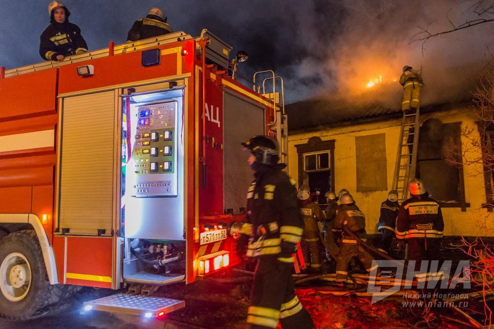 Расселённый дом сгорел в Ленинском районе Нижнего Новгорода 20 сентября