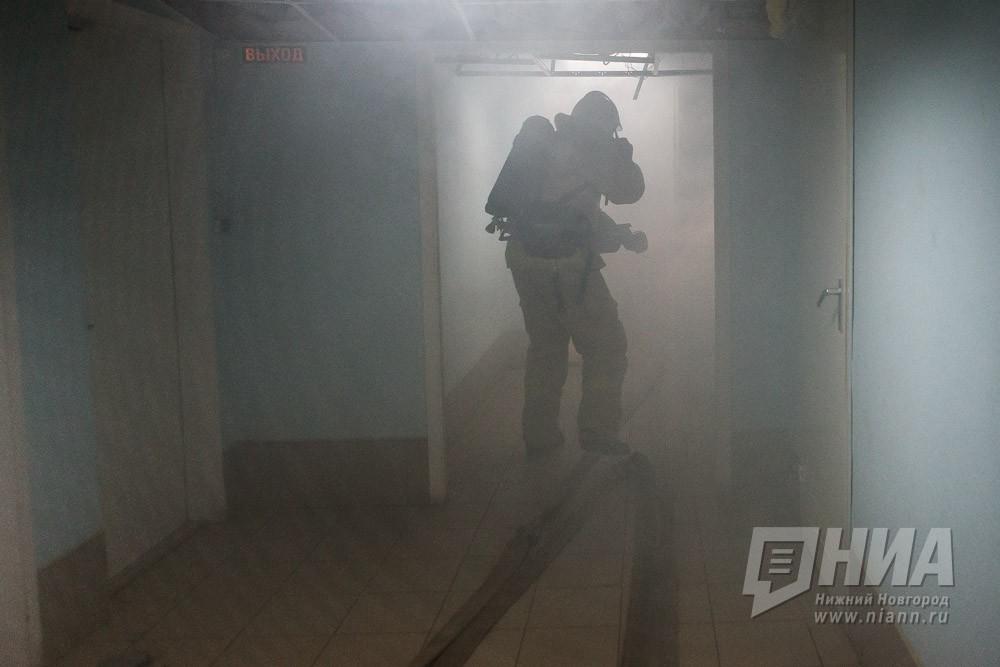 Более 30 человек был эвакуировано в результате пожара в доме на Казанском шоссе в Нижнем Новгороде 24 октября