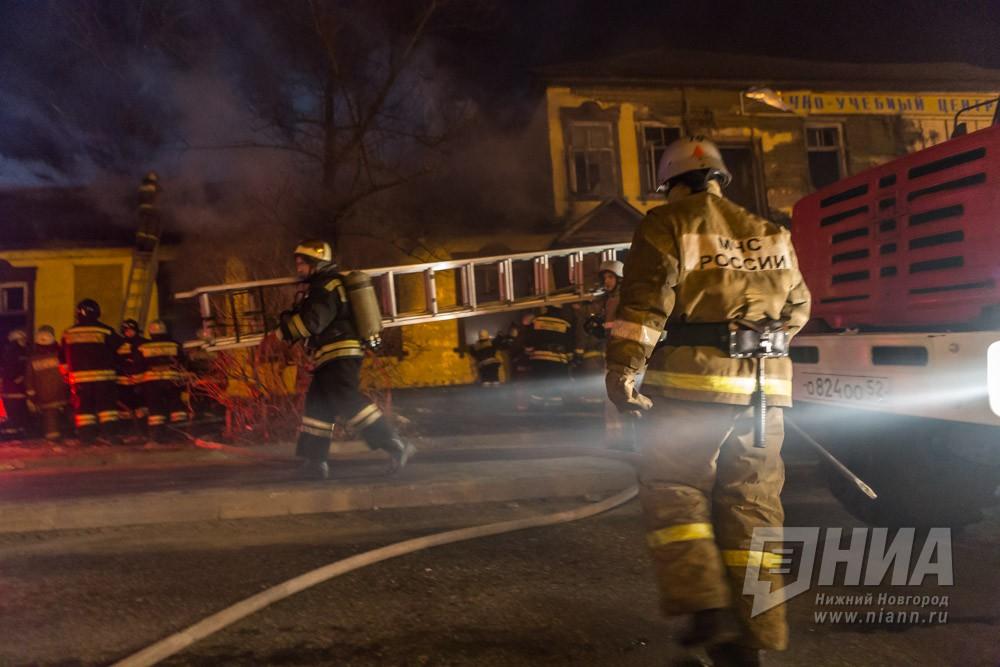 Мужчина пострадал при пожаре в частном доме в Московском районе Нижнего Новгорода 30 октября