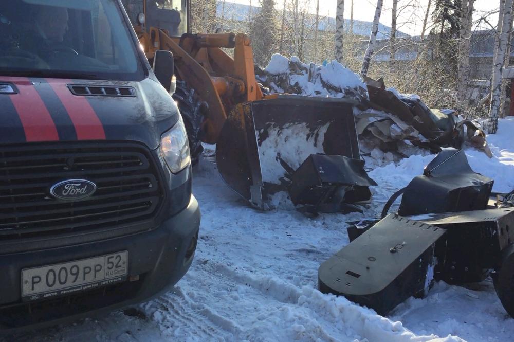 Уничтожение 20-ти игровых аппаратов состоялось по решению суда в г.Семенов