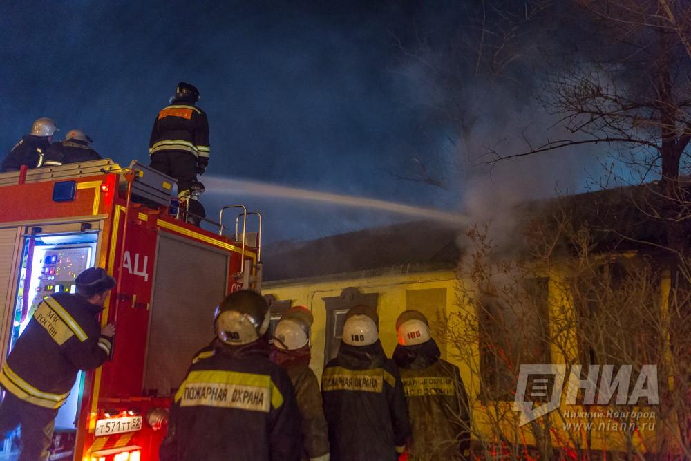 Двое мужчин погибли на пожаре в Дальнеконстантиновском районе Нижегородской области