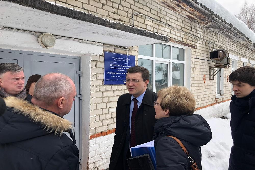 Глеб Никитин поручил отремонтировать кровлю детского сада в Ковернино Нижегородской области