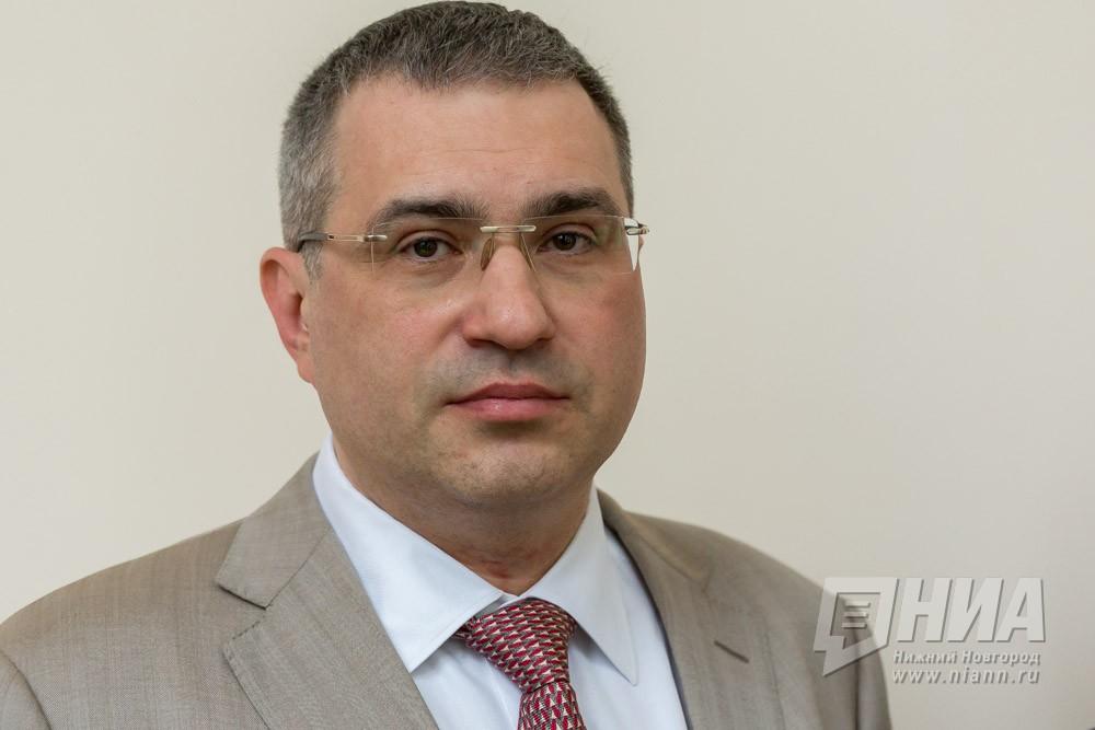 Депутаты поддержали отчет председателя нижегородской Думы Дмитрия Барыкина