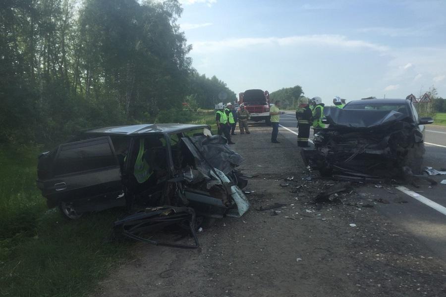Два человека погибли и три ранено в результате ДТП в Воротынском районе Нижегородской области