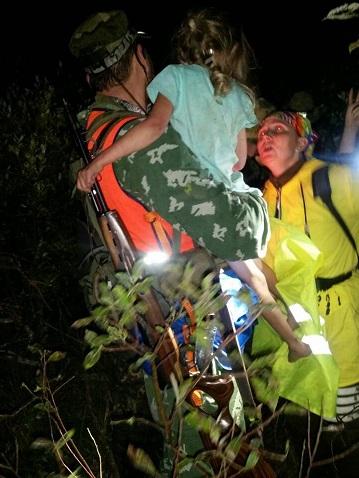 Пропавшую в нижегородском лесу пятилетнюю Зарину Авгонову нашли живой