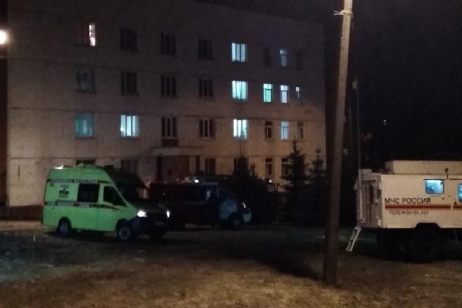 Спасатели потушили пожар в здании нижегородской психиатрической больницы 26 декабря