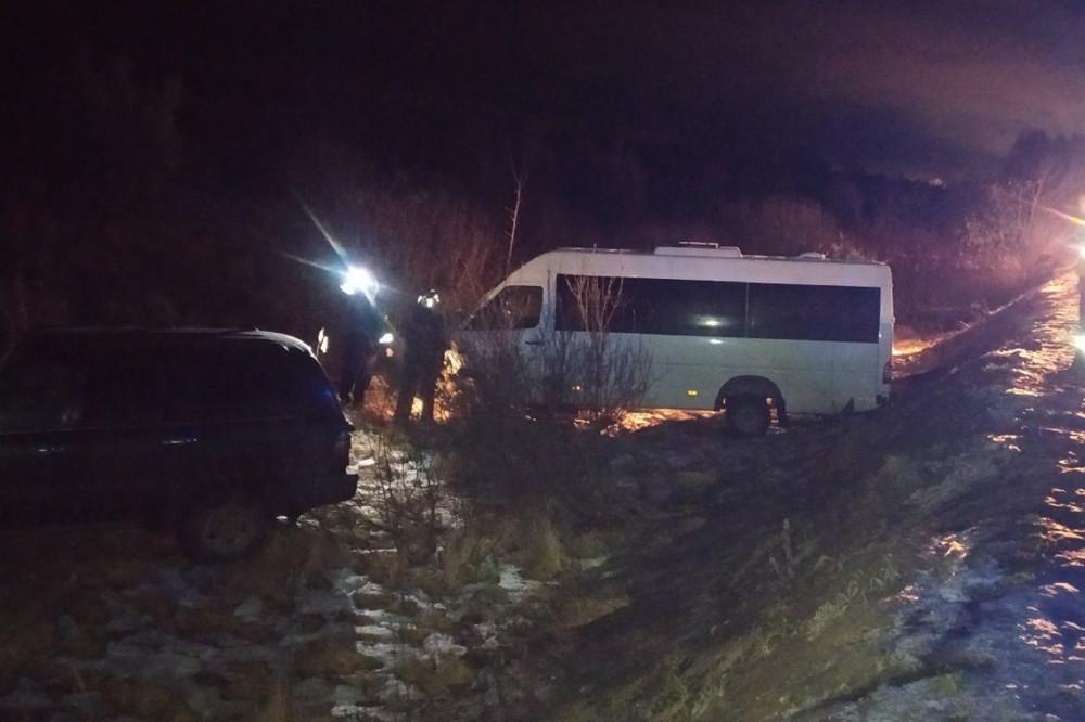 Лобовое ДТП с шестью пострадавшими произошло под Балахной (ФОТО)