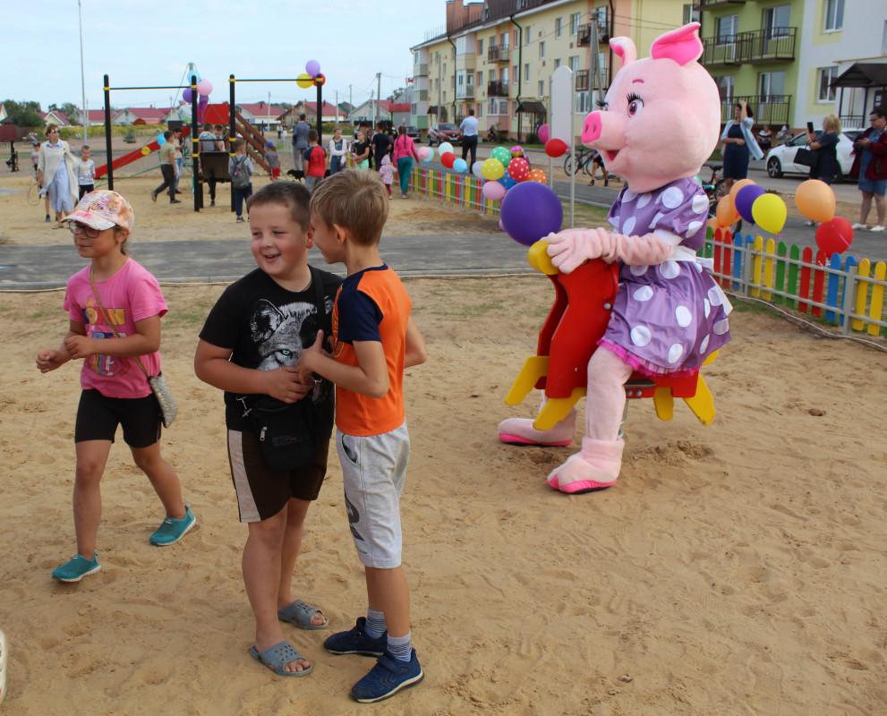 Новые детские и спортивные площадки появились в Городце