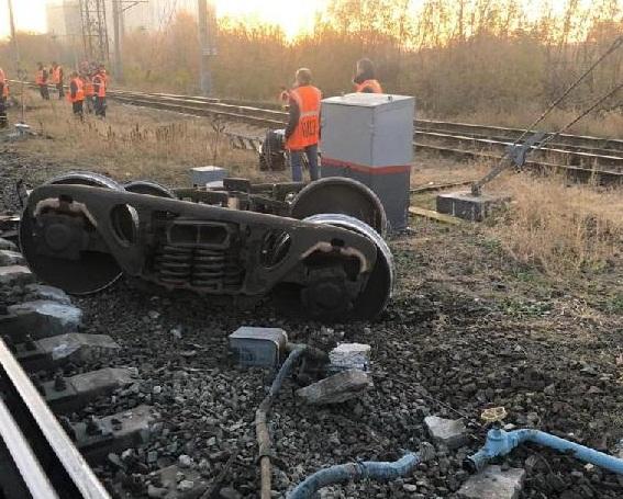 Нижегородская транспортная прокуратура начала проверку после схода вагона с рельсов