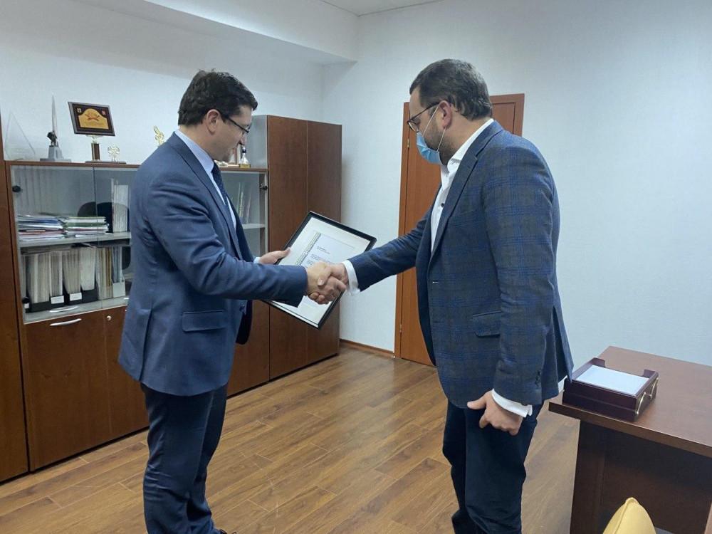 Глеб Никитин получил благодарность президента Международной федерации скейтбординга
